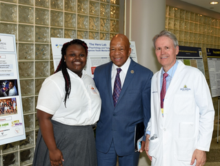 MERIT Scholar Shines During Visit from Congressman Elijah Cummings