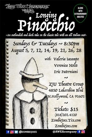 "Eric's DEBUT PLAY ""Longing Pinocchio"""