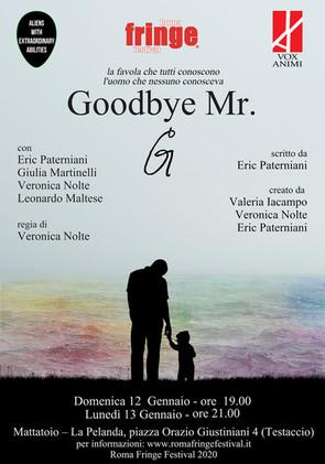 """""""Goodbye Mr. G"""" - Roma Fringe Festival"""