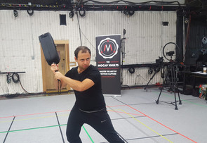Eric begins his Motion Capture training in Los Angeles