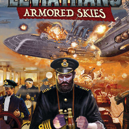 Leviathans: Armored Skies game Officially Canon! New Short Story Published!