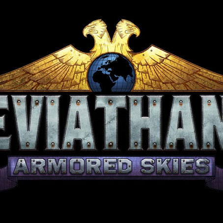 Announcing the Leviathans: Armored Skies Video Game Logo!