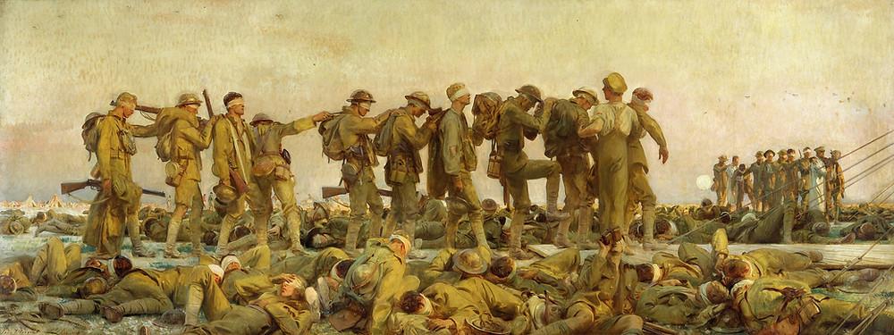 Gassed John Singer Sargent.