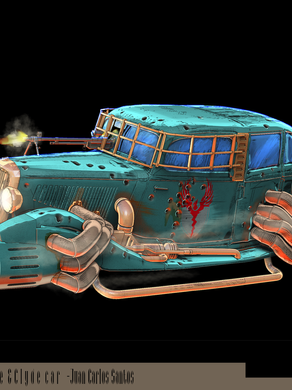 Designing Memorable Vehicles for Æther & Iron