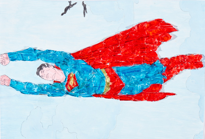 Stained Glass Superman, HM Prison Edinburgh