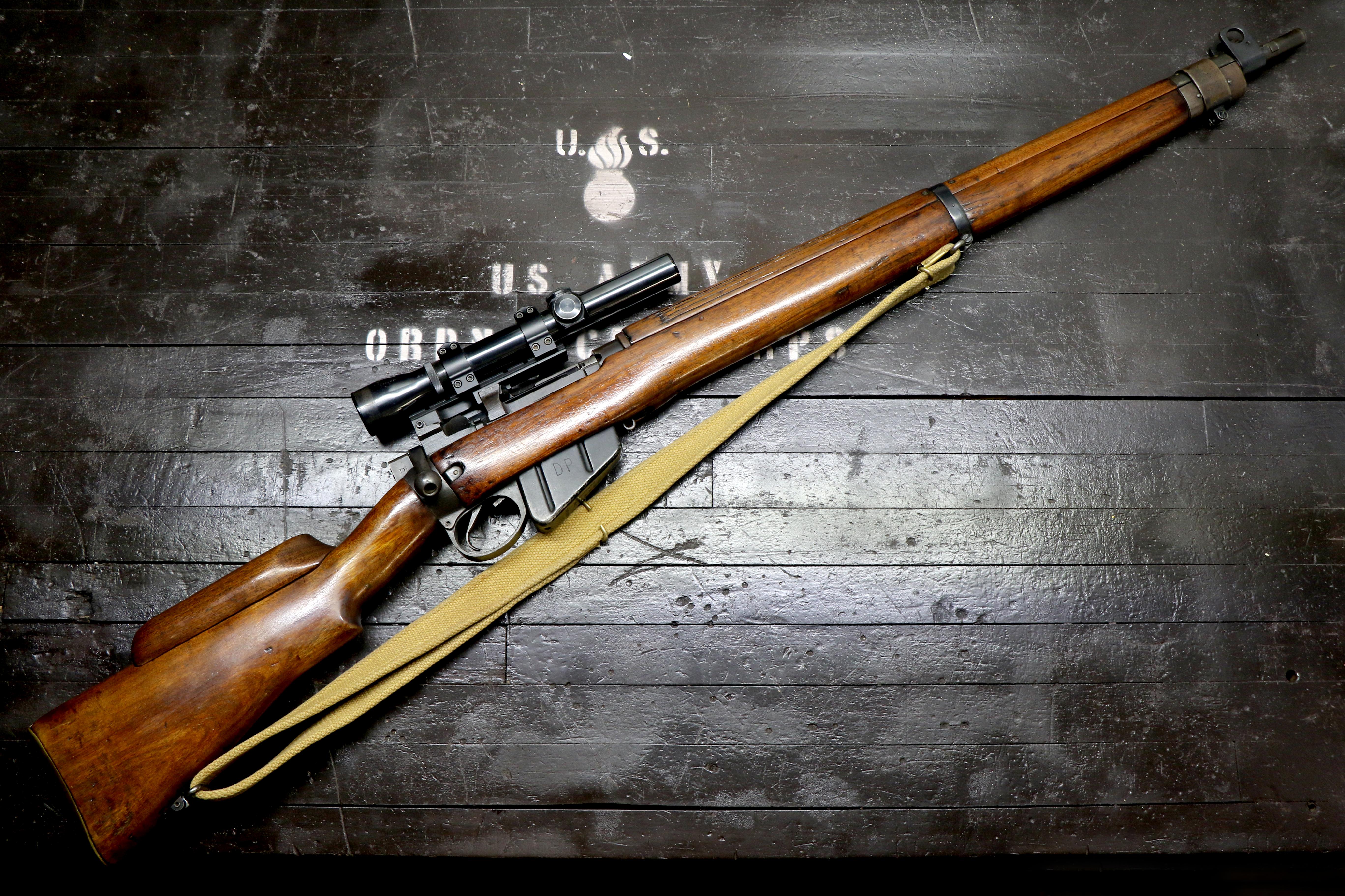 Enfield No.4 Mk1 (T) faux sniper