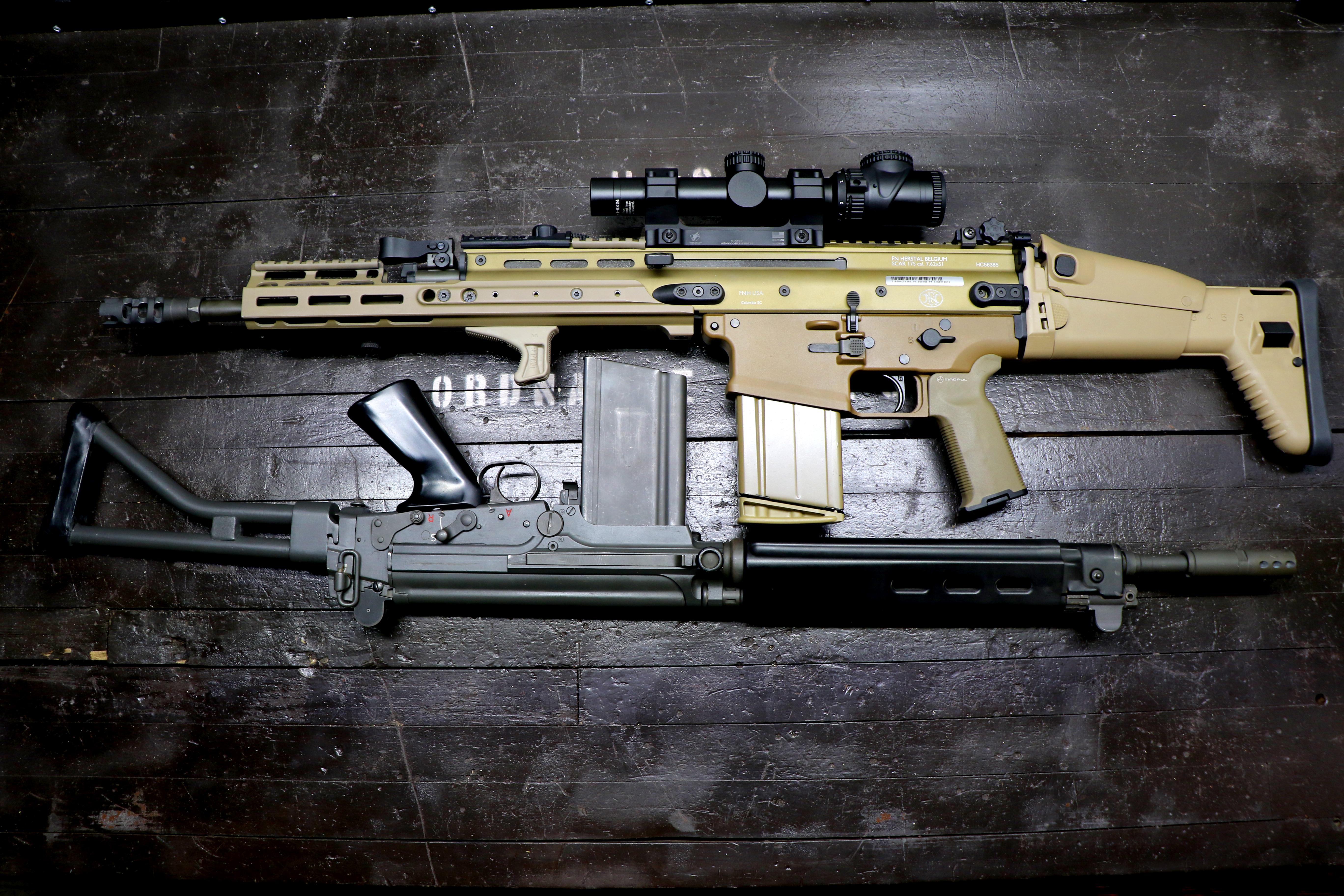 FN FAL vs SCAR