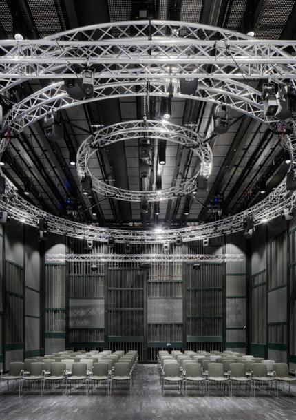 'pulsarSIEVE' world premiere on a 45.4-channel klangkupolen sound system at KMH - Kungliga M
