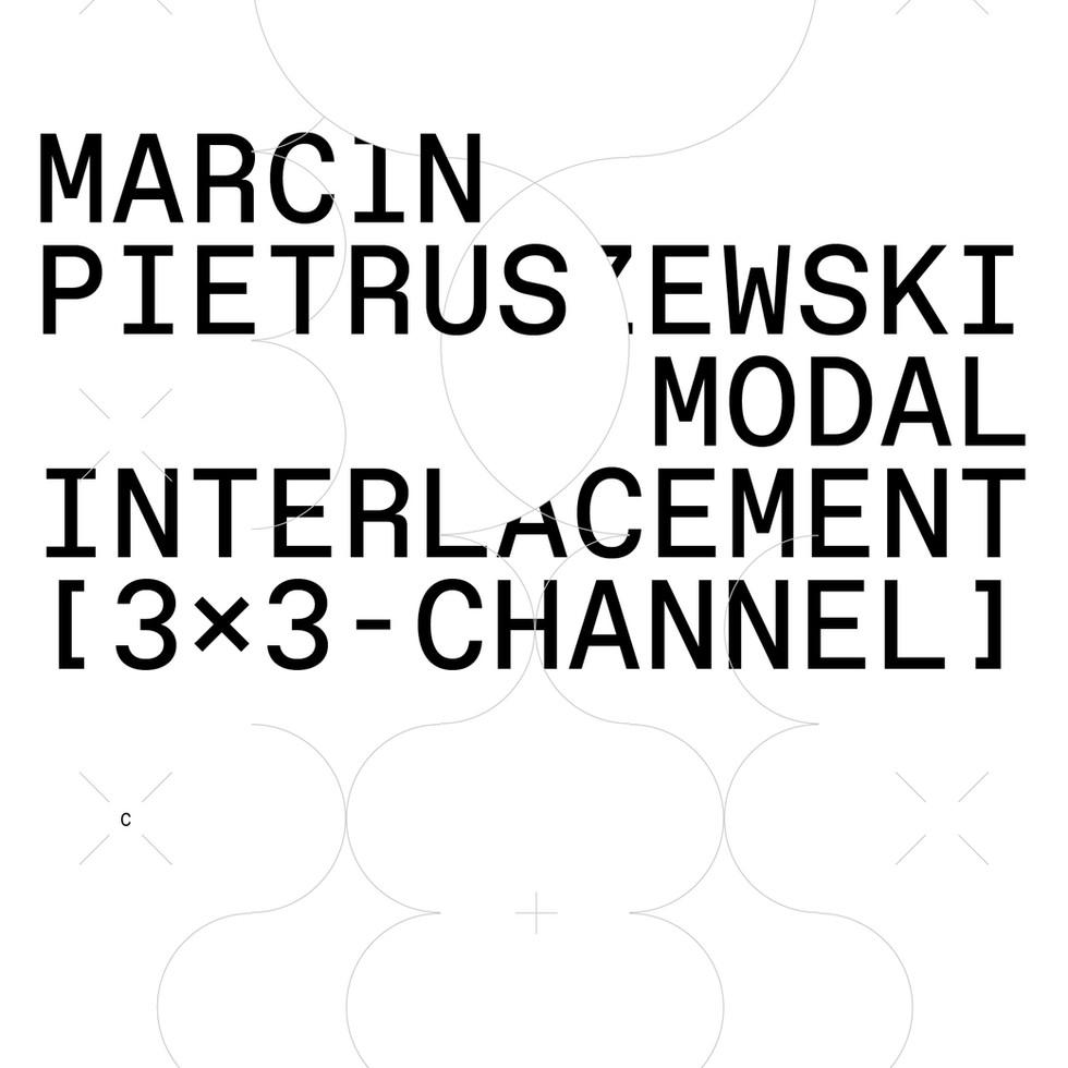 SOUND INSTALLATION: Modal Interlacement [3x3-Channel] at Centrala Gallery, Birmingham, UK 21.05.21 - 31.07.21