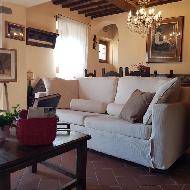 Living room Villa Cecchini
