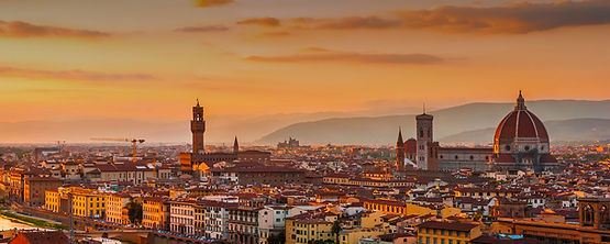 Florence view , Sunset in Florence, vaction in Tuscany
