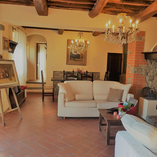 Living & Dining Room at Villa Cecchini
