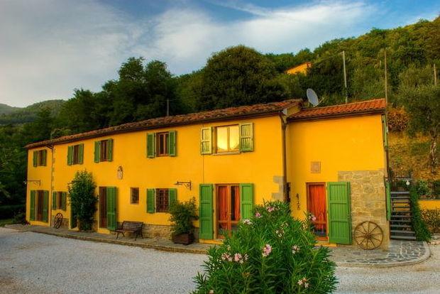 Villa Cecchini sunset