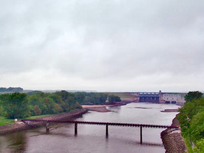 (Foot)Notes on Iowa - Part 1, Day 8 - Reaching Horn's Ferry & the Red Rock Dam