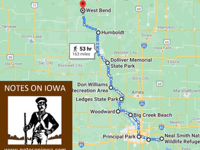 Part 2: Prairie City to West Bend Grotto