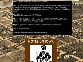 Part 2: Des Moines Meet-Up June 2 @ 7:00 p.m.