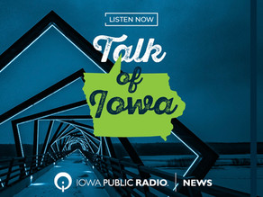 """Notes on Iowa"" on Iowa Public Radio - Monday, August 9"