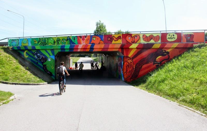 Vänersborg gångtunnlar