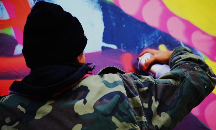 Shoreditch Art Wall Battle