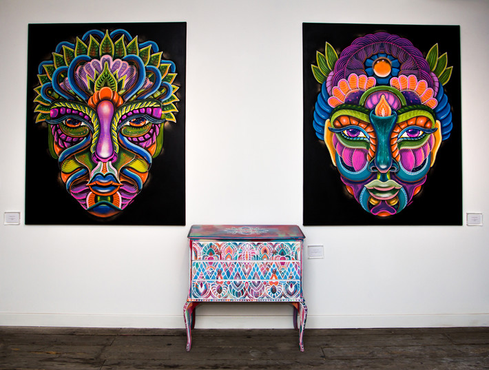 """Fem Graff"" at Lollipop Gallery, London"
