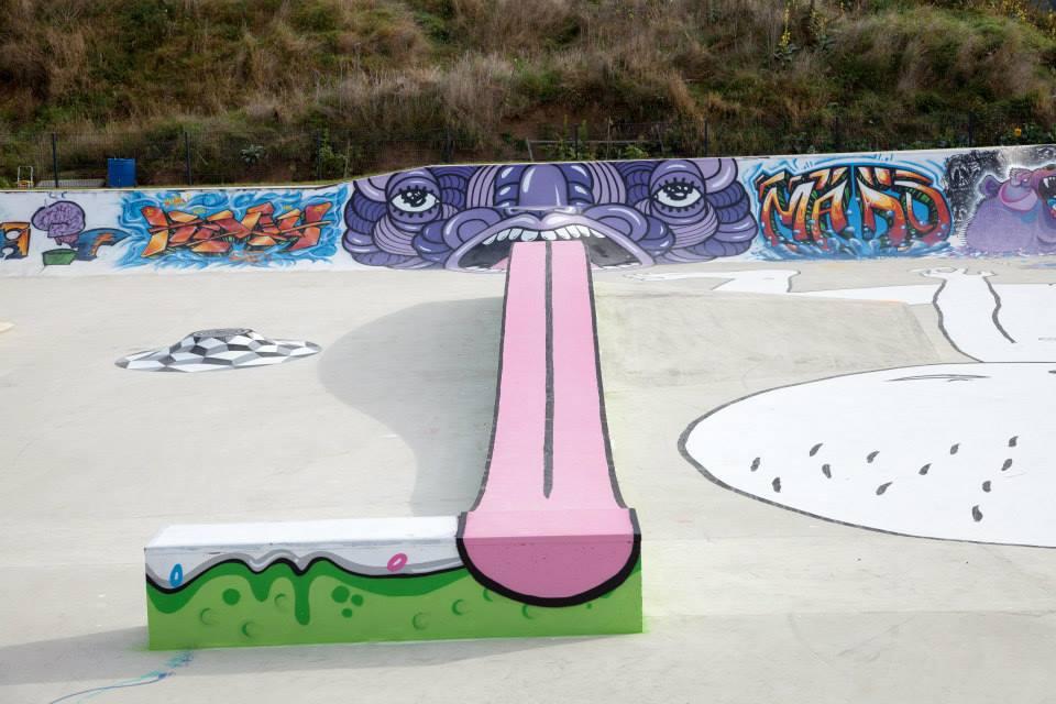 Luxembourg skatepark