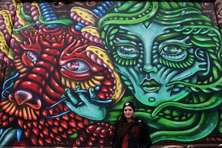 Shoreditch Art wall Battle. Week 2.