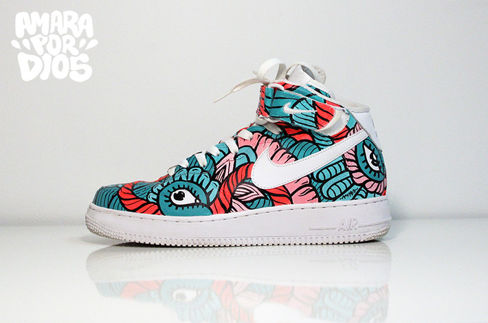 Amara Por Dios sneaker collection AiRT
