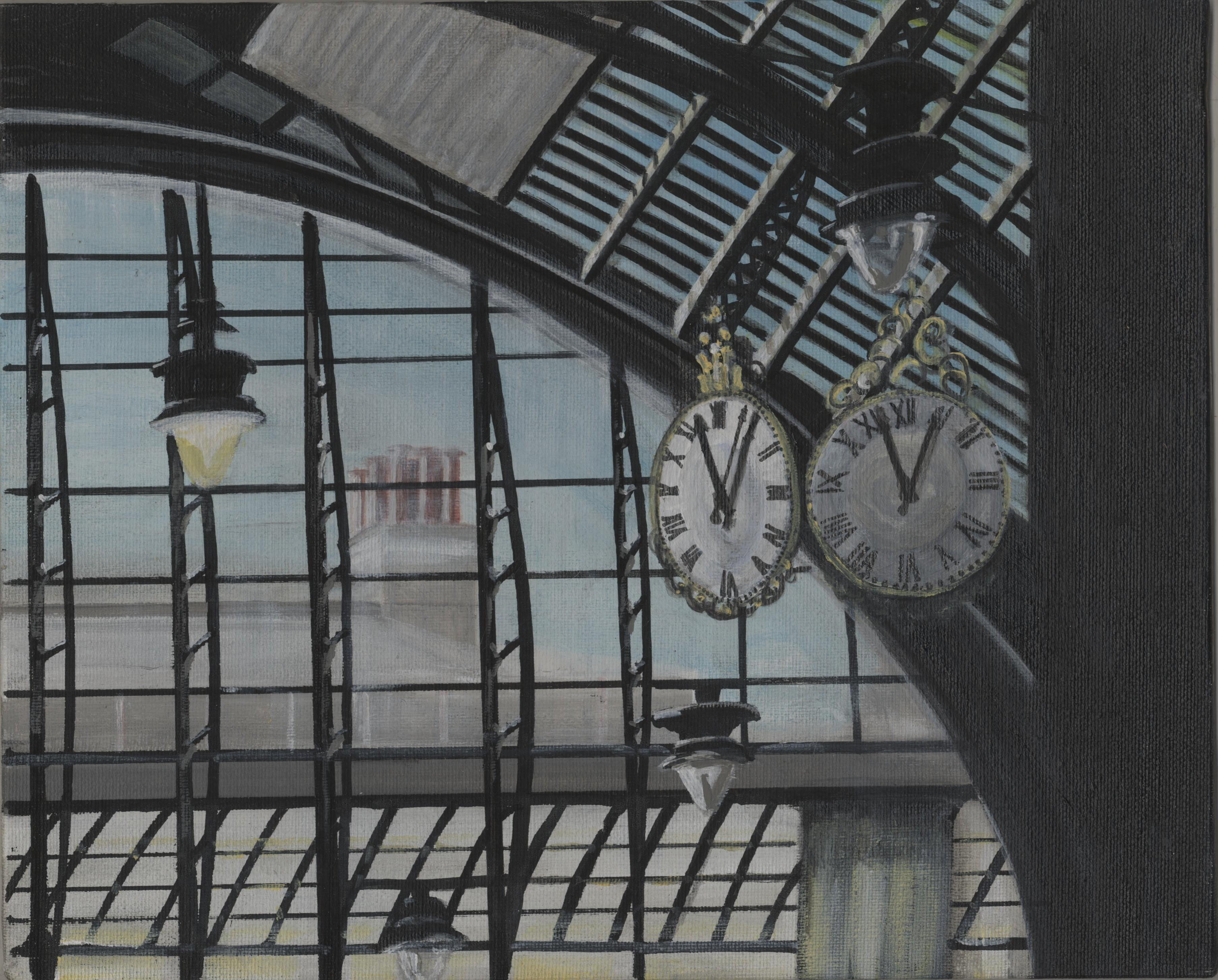 Meet me under the clock
