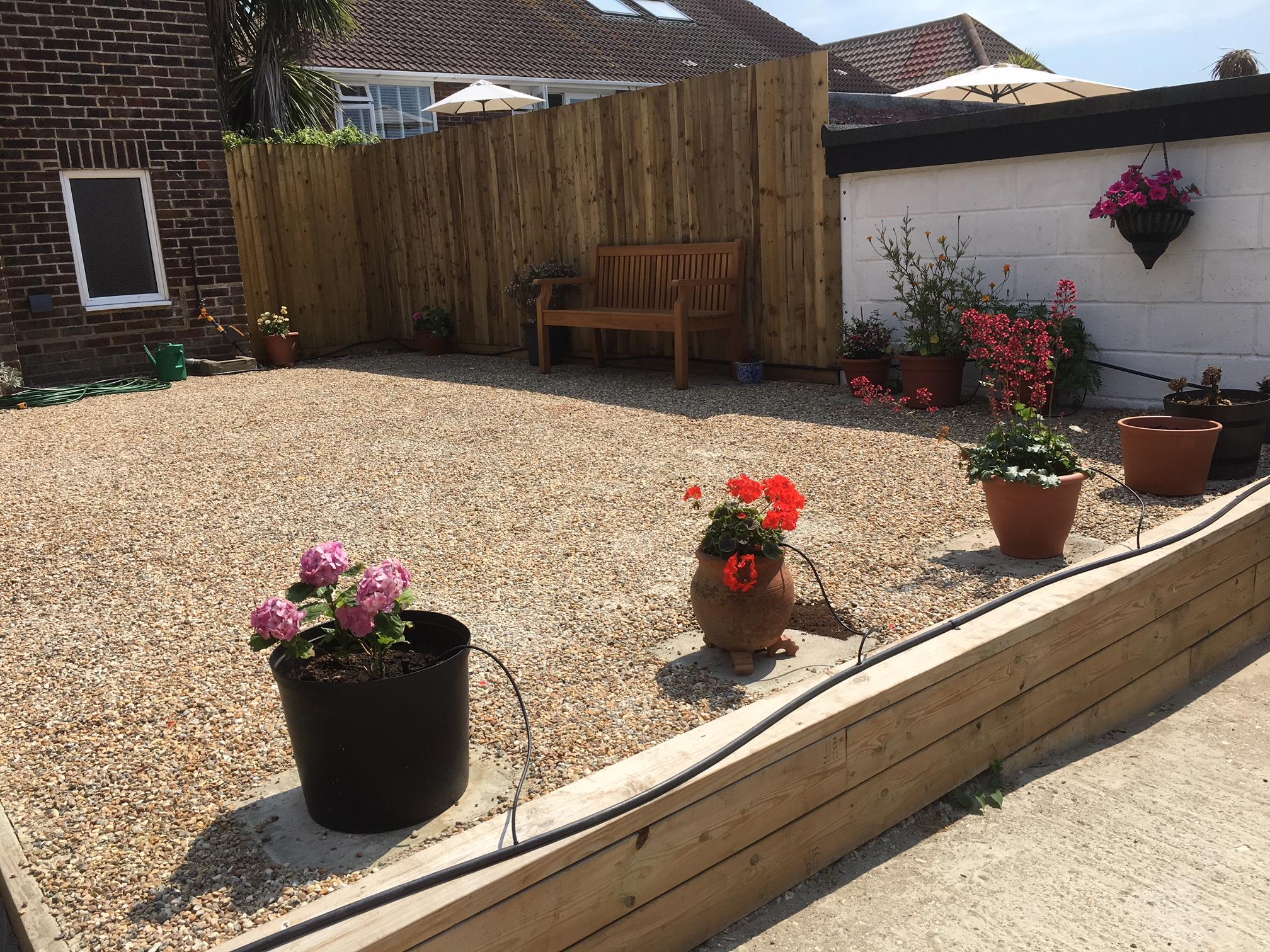 Rear Peace Garden