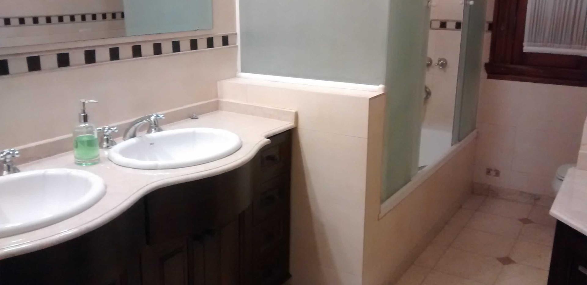 doble bacha baño