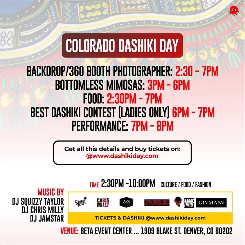 5th Annual Colorado Dashiki Day