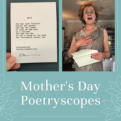 Mother's Day Poetryscope Subscription
