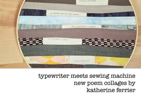 typewriter meets sewing machine