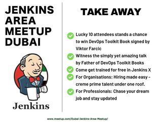 Jenkins Area meetup Dubai organised by Archinnova