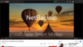 Introducing the new web-based UI for NetBackup