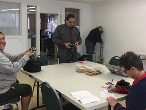 Everyone enjoys our facilitator Micheal Alvarez' photography class on Thursdays from 10:00 AM to