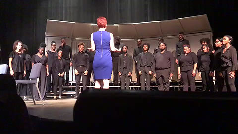 Sometimes I Cry text by Tupac Shakur Composed by Jasmine Barnes Performed by The Tennessee State University Meistersingers , Susan Kelly, director.