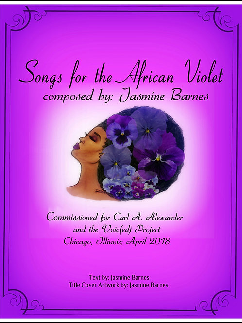 Songs for the African violet (Digital)