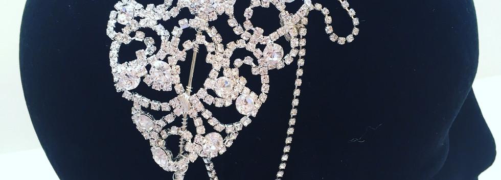 Diamante Headpieces