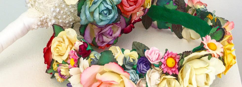 Flower Bouquet & Crown