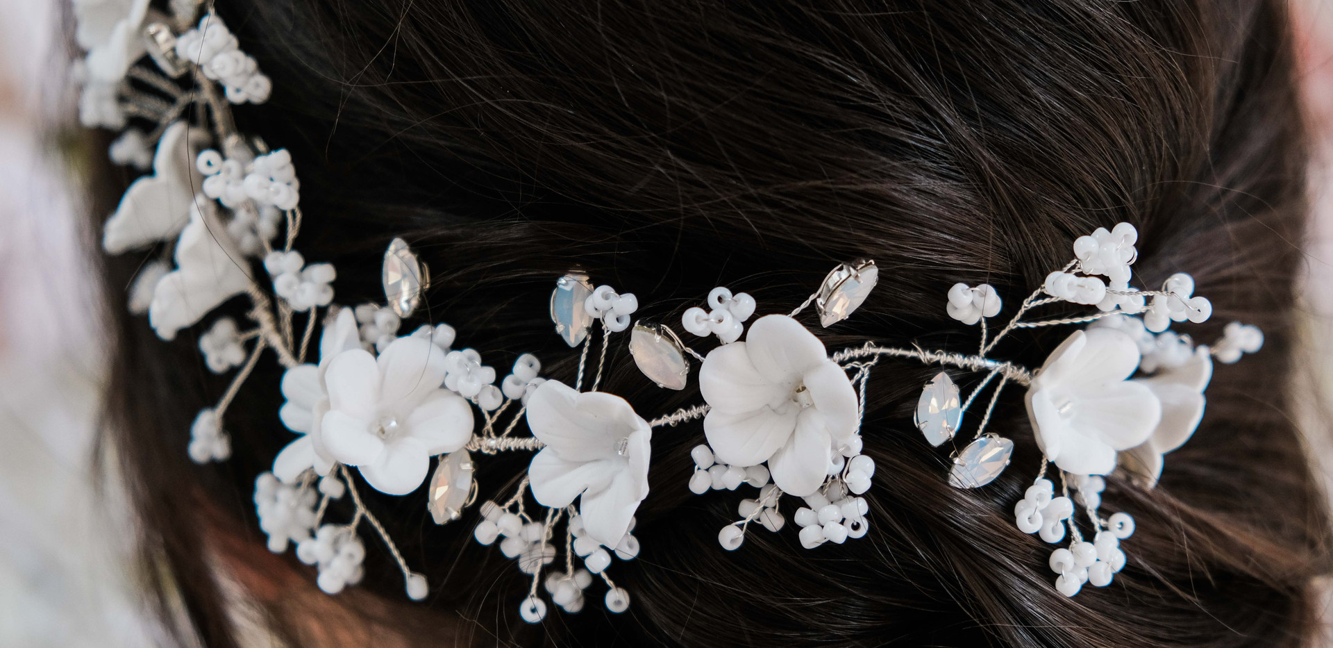 Cherry Blossom Hair Vine
