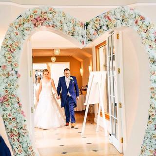 Flower Love Arch