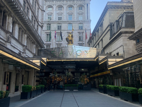 My Weekend at The Savoy