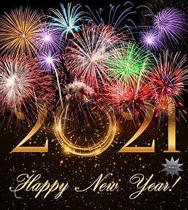 Vuurwerk Happy New Year 2021!