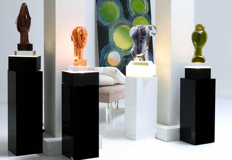 Sculptures + Pedestals
