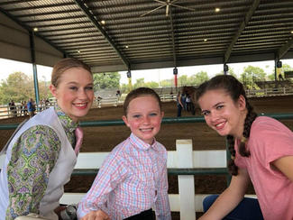 Mac, Emelia & Lauren at Southeastern.jpg