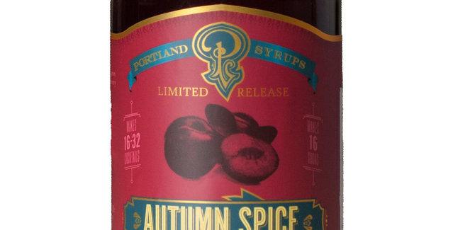 Autumn Spice Syrup