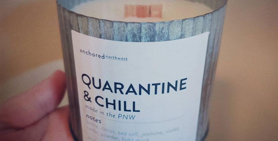 Quarantine & Chill Candle