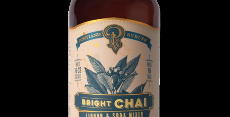 Bright Chai Liquor & Soda Mixer