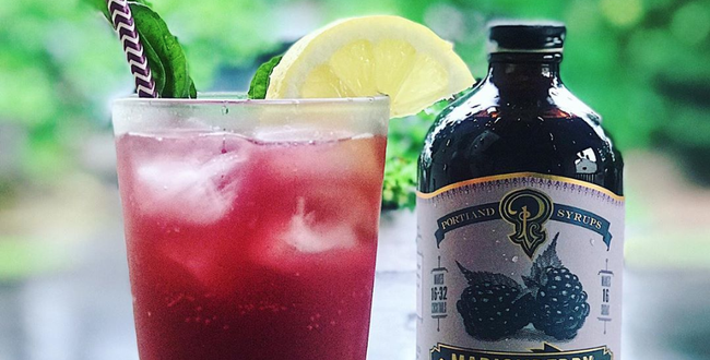 Marionberry Liquor & Soda Mixer